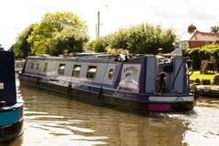 Βάρκα καναλιών Willington Στοκ φωτογραφία με δικαίωμα ελεύθερης χρήσης