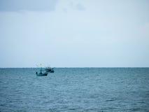 Βάρκα καλαμαριών, αλιευτικό σκάφος Στοκ εικόνες με δικαίωμα ελεύθερης χρήσης