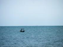 Βάρκα καλαμαριών, αλιευτικό σκάφος Στοκ φωτογραφία με δικαίωμα ελεύθερης χρήσης