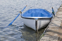 βάρκα κενή στοκ εικόνες