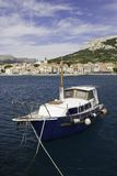 βάρκα Κροατία baska παλαιά Στοκ εικόνα με δικαίωμα ελεύθερης χρήσης