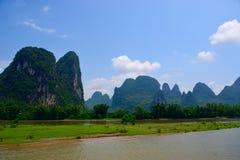 Βάρκα κρουαζιέρας ποταμών λι της Κίνας Guilin Στοκ Εικόνες