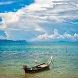 βάρκα μακρύς Ταϊλανδός Στοκ Εικόνες