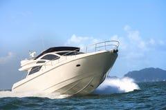 Βάρκα μηχανών Στοκ Εικόνες