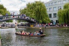 Βάρκα μουσικής στο Κάμντεν Στοκ εικόνες με δικαίωμα ελεύθερης χρήσης