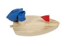 βάρκα μπαλονιών που τροφ&omicron Στοκ Εικόνες