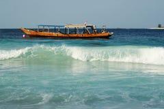 βάρκα ξύλινη Στοκ Εικόνα