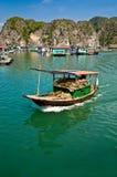 βάρκα ξύλινη στοκ εικόνα με δικαίωμα ελεύθερης χρήσης