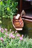 βάρκα ξύλινη Στοκ εικόνες με δικαίωμα ελεύθερης χρήσης