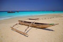 βάρκα ξύλινη Στοκ Φωτογραφίες