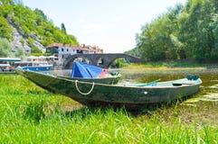 βάρκα 2 ξύλινη στοκ εικόνες