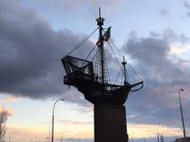 Βάρκα ουρανού Στοκ φωτογραφία με δικαίωμα ελεύθερης χρήσης
