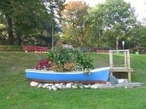 Βάρκα λουλουδιών Στοκ φωτογραφία με δικαίωμα ελεύθερης χρήσης