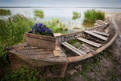 βάρκα παλαιά Στοκ φωτογραφία με δικαίωμα ελεύθερης χρήσης