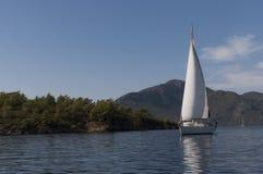 Βάρκα πανιών στην Τουρκία Στοκ φωτογραφίες με δικαίωμα ελεύθερης χρήσης
