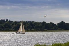 Βάρκα πανιών Στοκ εικόνες με δικαίωμα ελεύθερης χρήσης