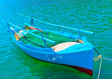 βάρκα παραλιών danang που αλιεύει nam viet Στοκ Φωτογραφία