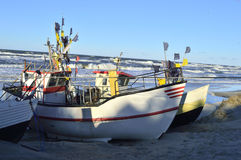 βάρκα παραλιών danang που αλιεύει nam viet Στοκ φωτογραφία με δικαίωμα ελεύθερης χρήσης
