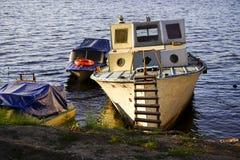 βάρκα παλαιά Στοκ Φωτογραφία