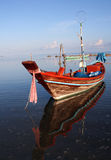 βάρκα που αλιεύει Ταϊλαν& στοκ εικόνες