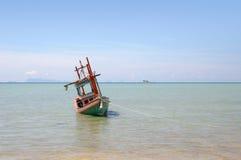 βάρκα που αλιεύει την Ταϊ&lamb στοκ εικόνες