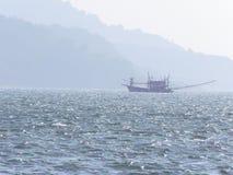βάρκα που αλιεύει την Ταϊλάνδη Στοκ Φωτογραφία