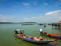 βάρκα που αλιεύει την Ταϊλάνδη Στοκ Εικόνα