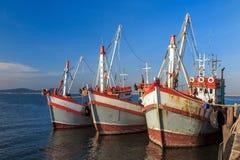 βάρκα που αλιεύει την Ταϊ&lamb Στοκ φωτογραφία με δικαίωμα ελεύθερης χρήσης