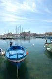 βάρκα που δένεται Στοκ φωτογραφία με δικαίωμα ελεύθερης χρήσης