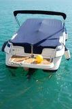βάρκα που ελλιμενίζετα&iot Στοκ Εικόνες