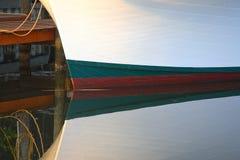 βάρκα που ελλιμενίζετα&iot Στοκ εικόνα με δικαίωμα ελεύθερης χρήσης