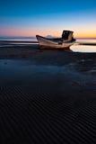 βάρκα που προσαράσσουν Στοκ εικόνα με δικαίωμα ελεύθερης χρήσης