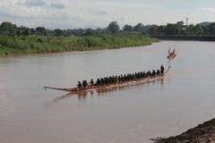 Βάρκα που συναγωνίζεται στην Ταϊλάνδη Στοκ φωτογραφίες με δικαίωμα ελεύθερης χρήσης