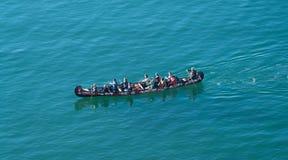 Βάρκα δράκων στοκ εικόνα με δικαίωμα ελεύθερης χρήσης
