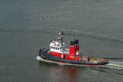 Βάρκα ρυμουλκών Στοκ Φωτογραφίες