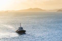 Βάρκα ρυμουλκών Στοκ Φωτογραφία