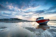 Βάρκα σε Instow Στοκ Φωτογραφίες