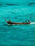 Βάρκα σε Lipe Στοκ Εικόνες