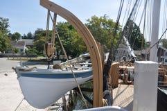 Βάρκα σκαφών κυνηγιού φάλαινας Στοκ εικόνες με δικαίωμα ελεύθερης χρήσης