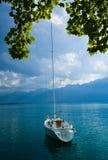 Βάρκα στη λίμνη Στοκ Φωτογραφίες