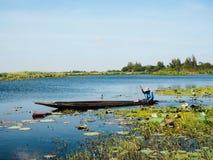 Βάρκα στη λίμνη Στοκ φωτογραφίες με δικαίωμα ελεύθερης χρήσης