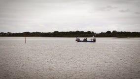 Βάρκα στον άνευ ραφής βρόχο της Βρετάνης cinemagraph φιλμ μικρού μήκους