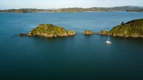 Βάρκα στον κόλπο της Νέας Ζηλανδίας των νησιών, Paihia Στοκ φωτογραφίες με δικαίωμα ελεύθερης χρήσης