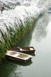 Βάρκα στον ποταμό Στοκ φωτογραφίες με δικαίωμα ελεύθερης χρήσης
