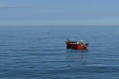 Βάρκα στον ωκεανό Στοκ φωτογραφίες με δικαίωμα ελεύθερης χρήσης