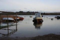 Βάρκα στο έδαφος Στοκ Φωτογραφία