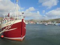 Βάρκα στο λιμάνι Στοκ Εικόνα