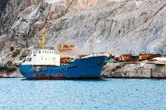 Βάρκα στο λιμάνι Στοκ εικόνα με δικαίωμα ελεύθερης χρήσης