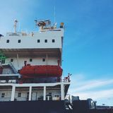 Βάρκα στο Μόντρεαλ Στοκ φωτογραφίες με δικαίωμα ελεύθερης χρήσης