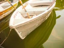 Βάρκα στο νερό Στοκ Εικόνες
